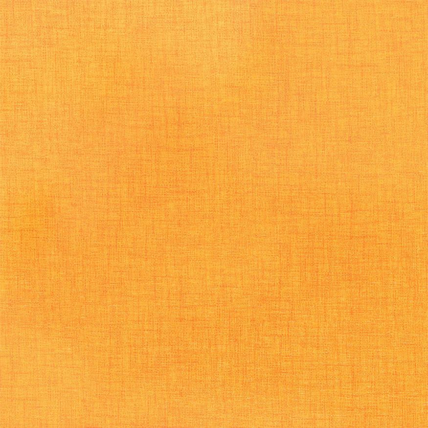 Loneta estampada efecto rústico naranja