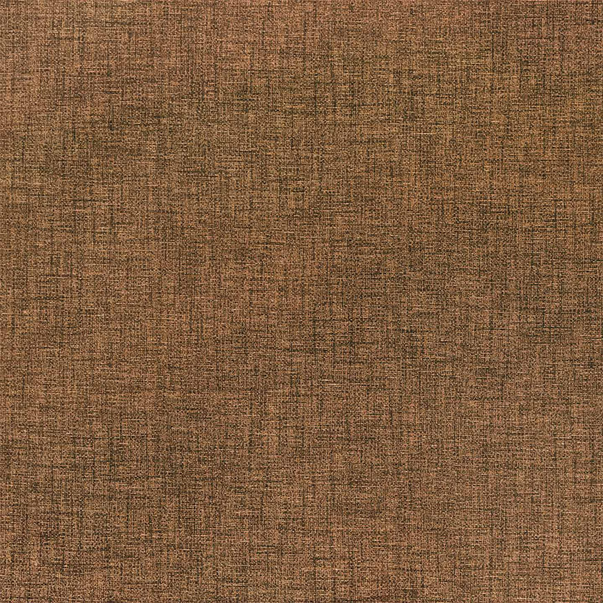 Loneta estampada efecto rústico marrón