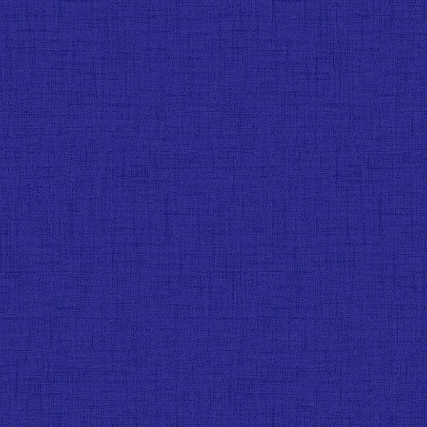 Loneta estampada efecto rústico azul