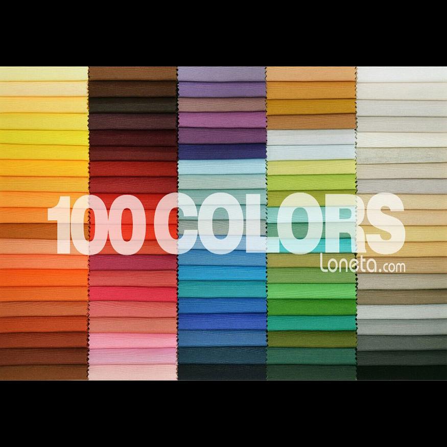 Tela loneta gran surtido de colores