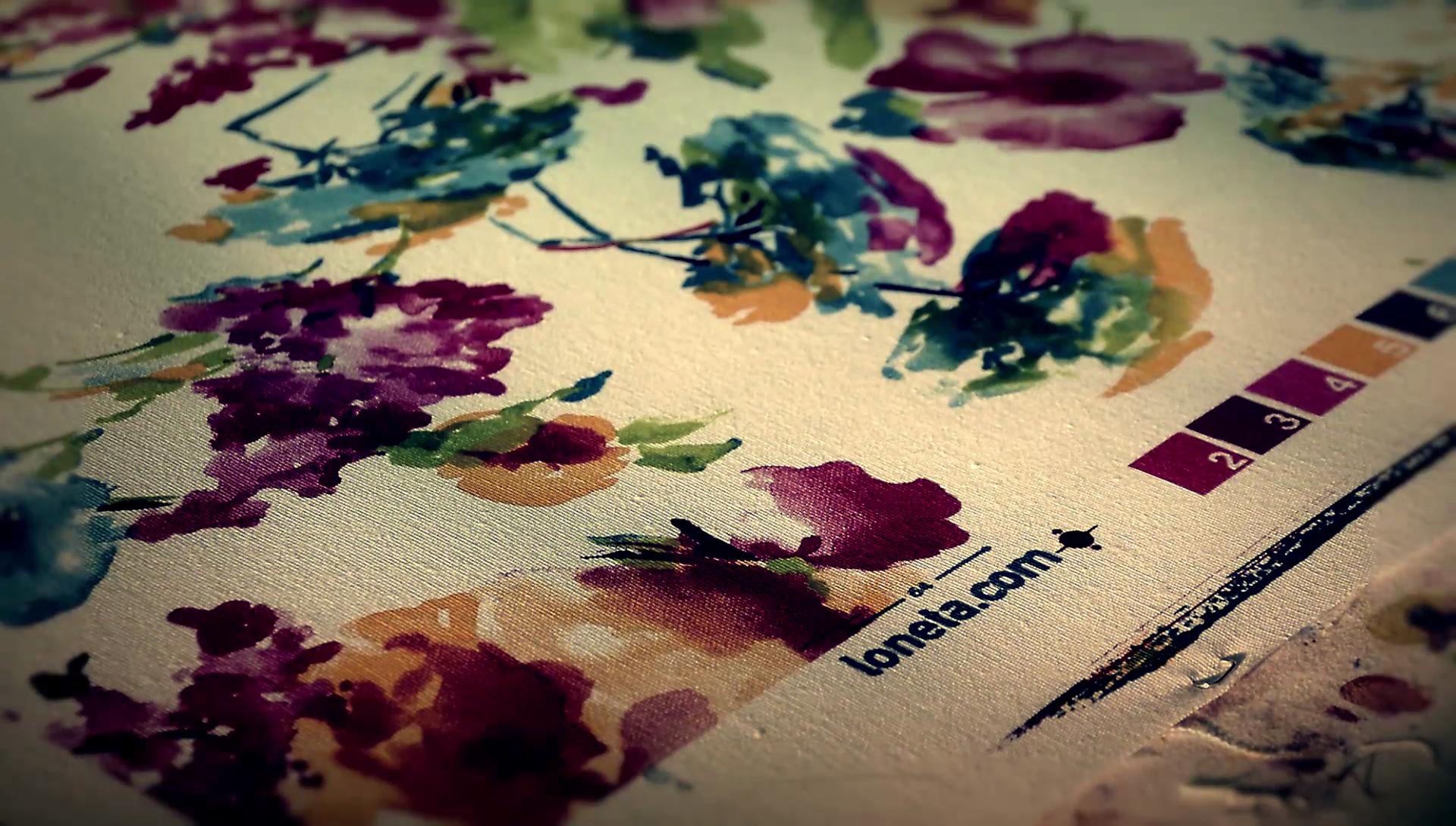 Vendita Di Tessuti Loneta Stampati Per L Arredamento E Abbigliamento