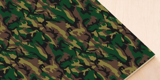 foam loneta camuflaje 701 verde green
