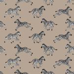 Loneta de cebras estampadas en blanco y negro para decoracion hogar