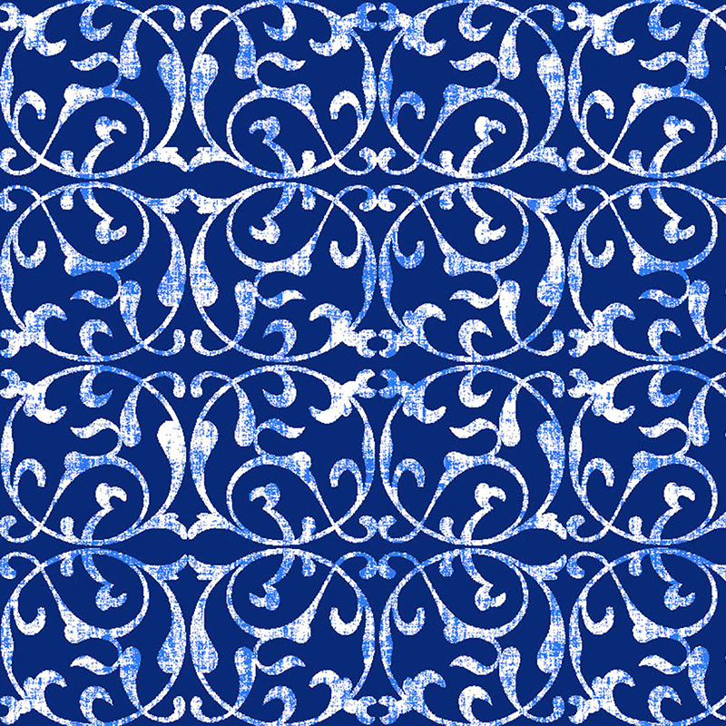 Loneta para mantel azul