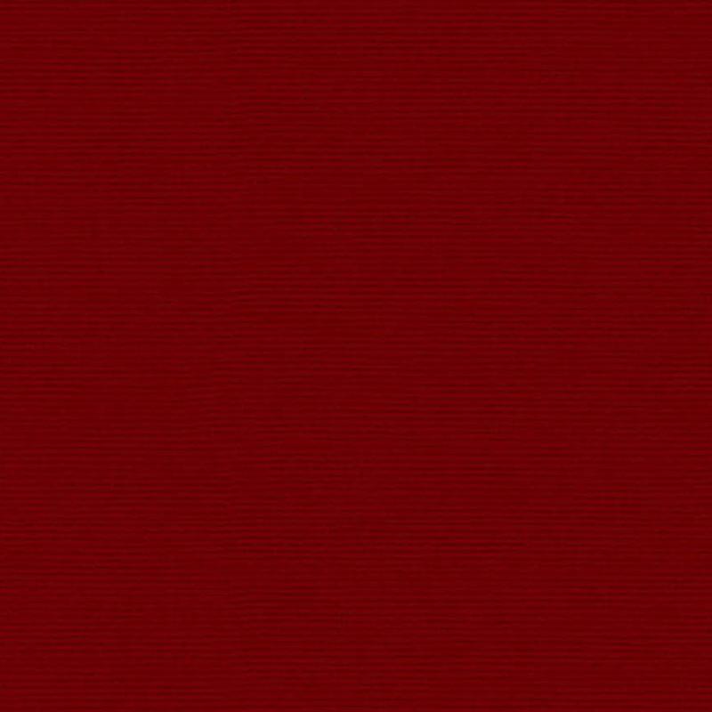 Loneta color rojo tejido tintado