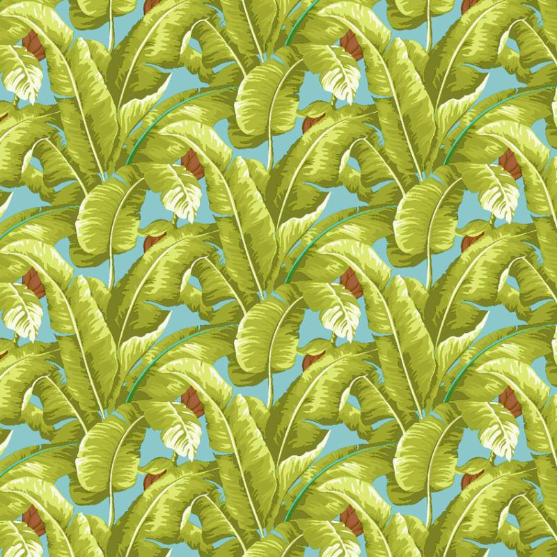 Loneta tropical de palmeras