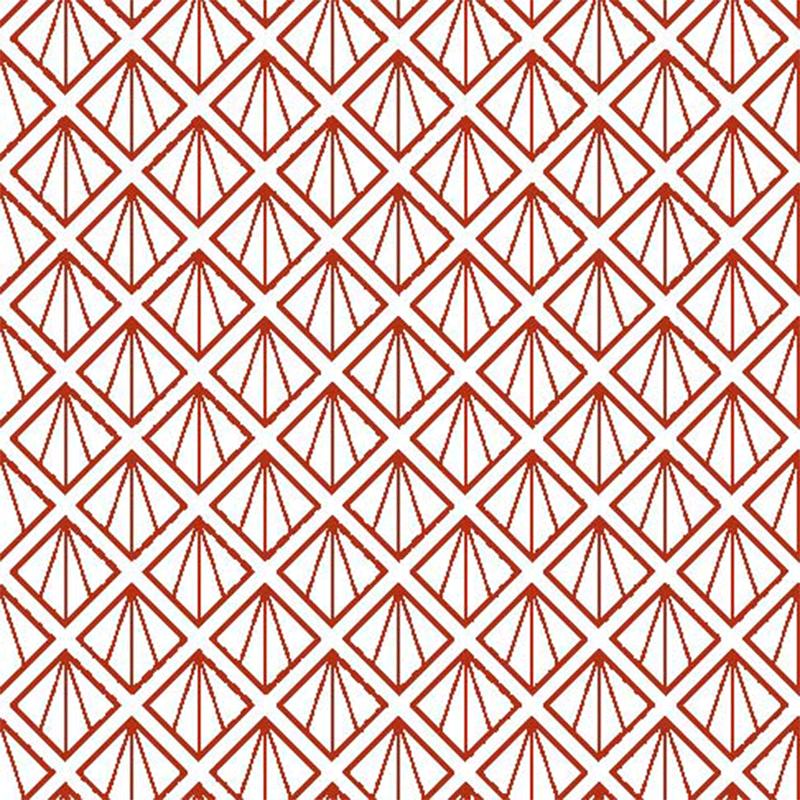 Lonas para decorar con figuras en rojo