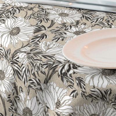 Tela para mantel resinado Loneta floral