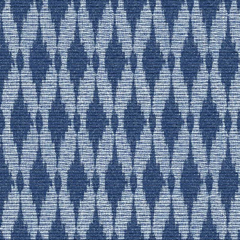 loneta color azul geometrico