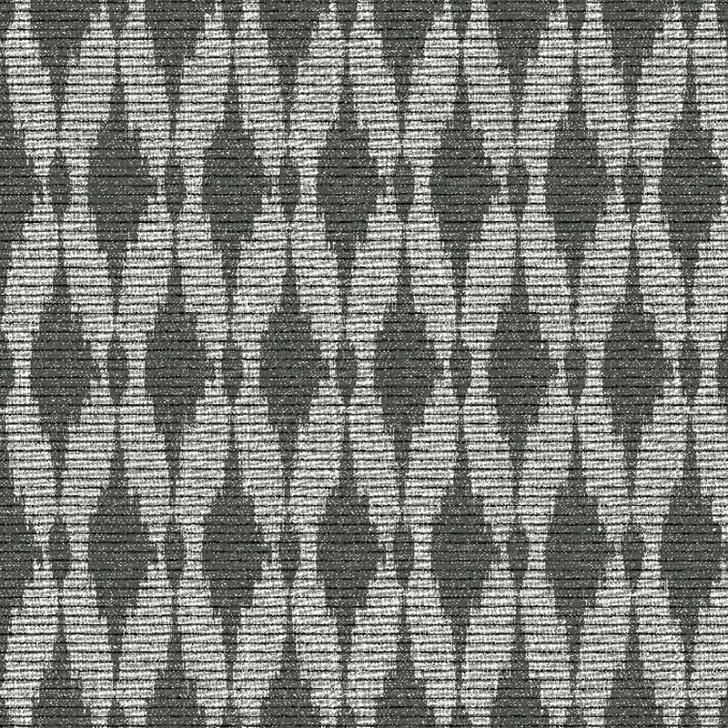 loneta geométrica color negro