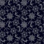 Tela decoración hogar azul marinero