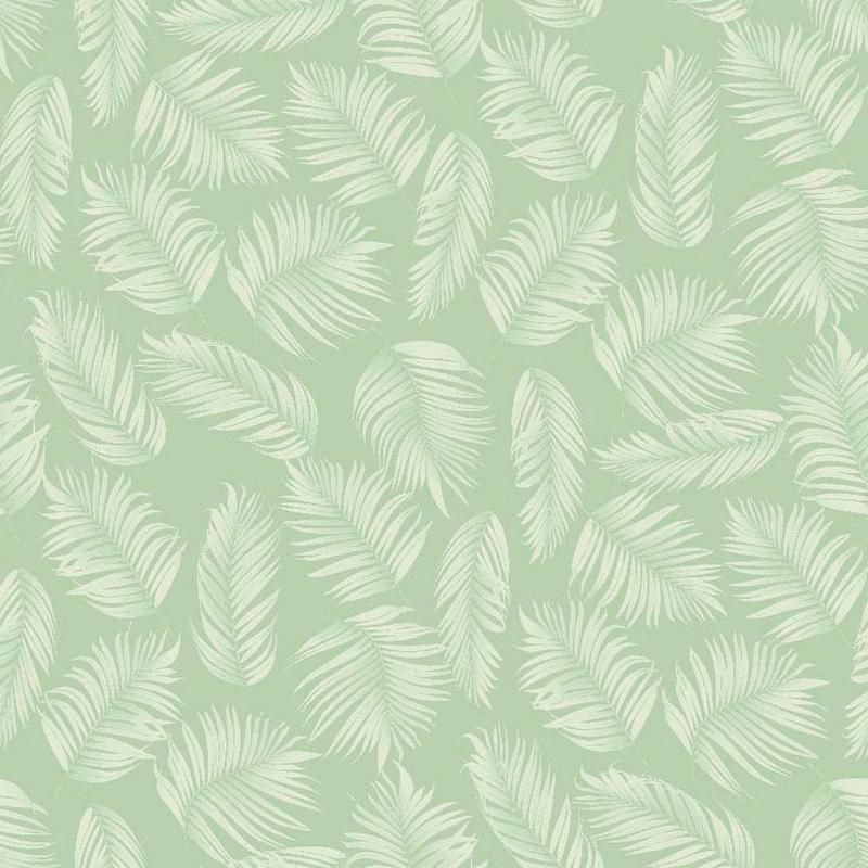 Tela de hojas tropicales para decoración