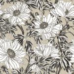loneta de flores para decoración