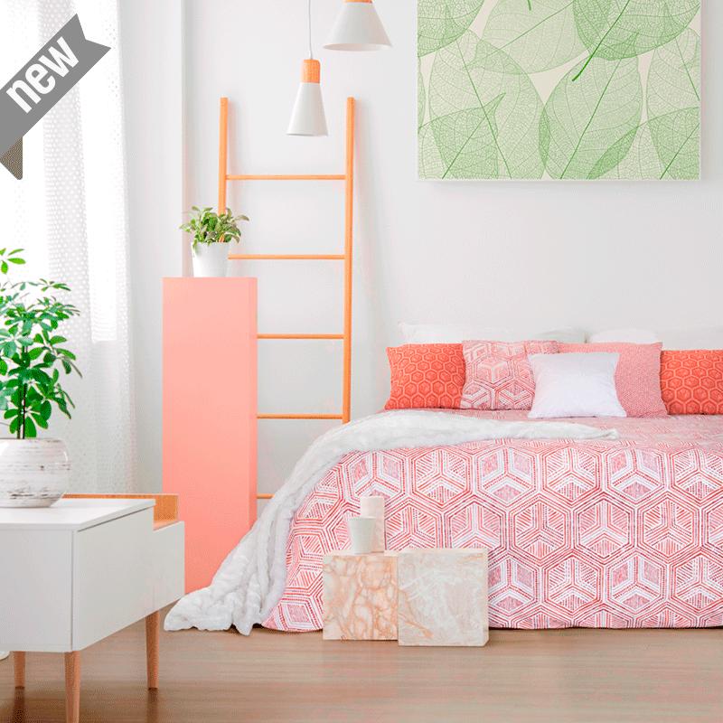 Loneta geométrica hexagonal para decoración hogar
