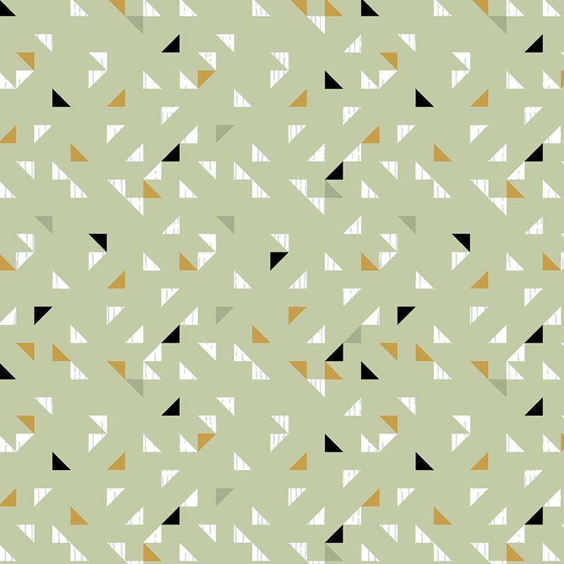 Telas de rectángulos estilo origami