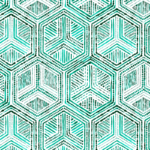 Telas geométricas para decorar