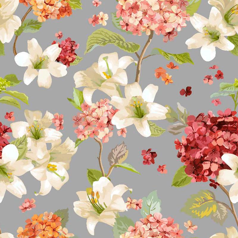 lonetas para decoración hogar. flores románticas