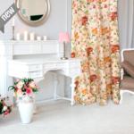textil Hogar de flores Shabby Chic style