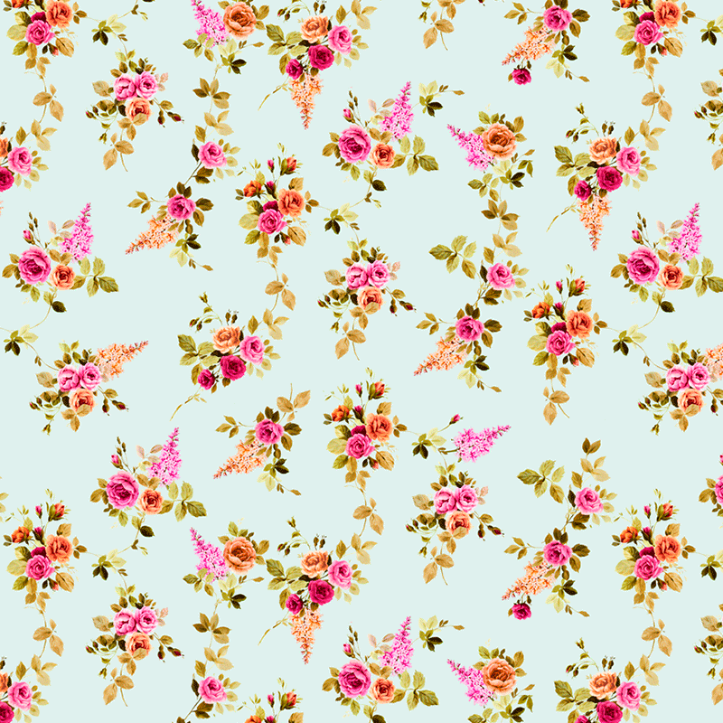 Telas para decoración hogar lonas resistentes Loneta de flores