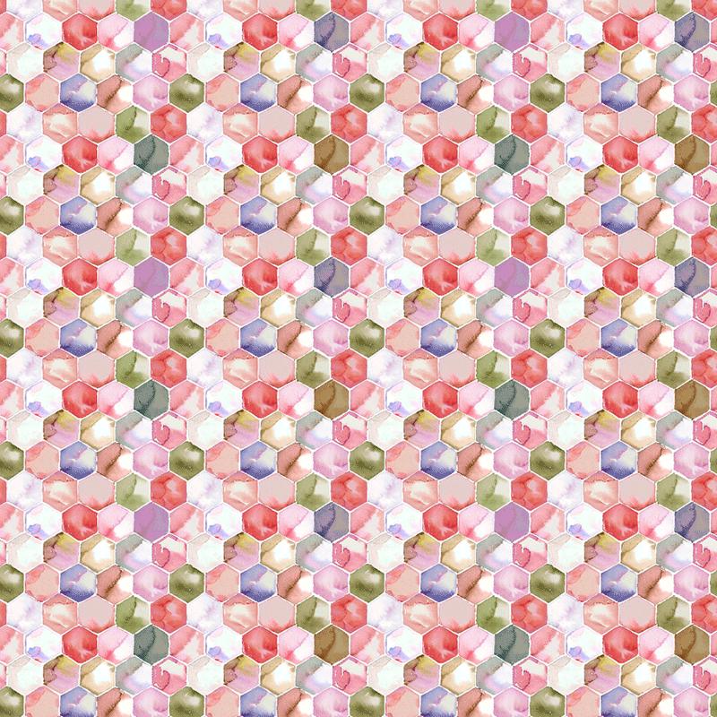Loneta geométrica lonas para decoración