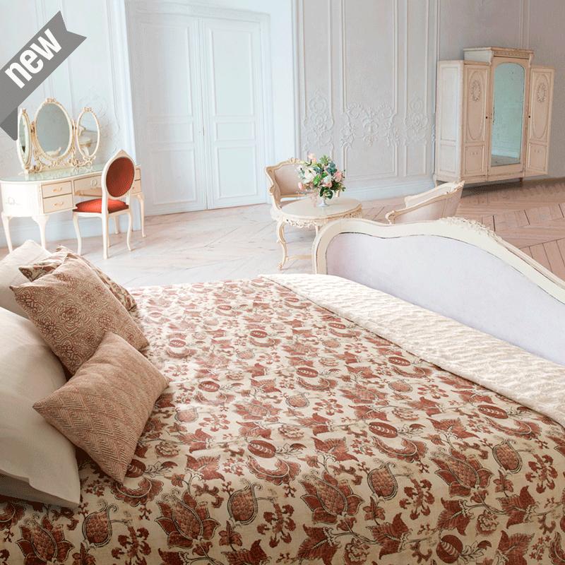 Loneta estampada vintage para decoración telas abstractas venta por metros