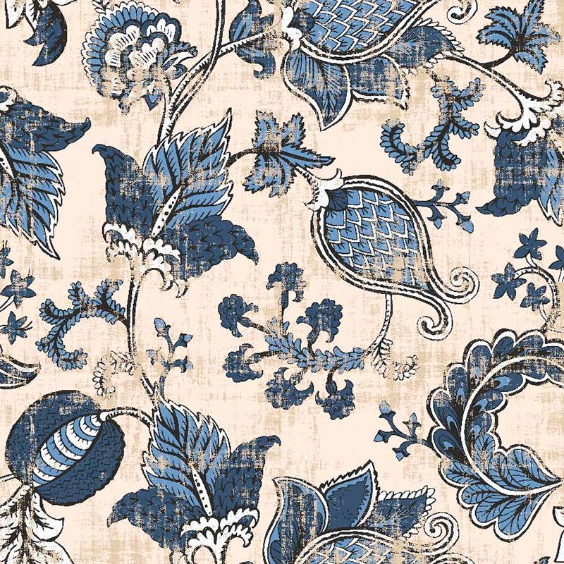 telas estampadas de flores indianas por metro para decoración, cortinas, manteles