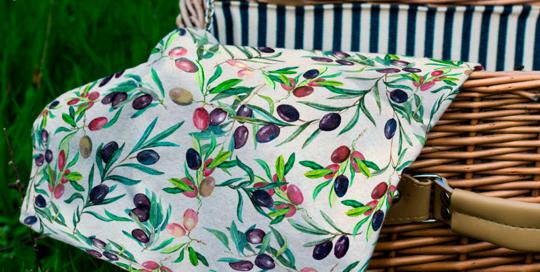 loneta estampado provenzal para decoración de hogar, cocina, home decor