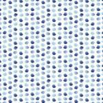 loneta de huellas estampadas