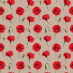 telas con estampado de flores en culla original de algodón venta online Primavera 401