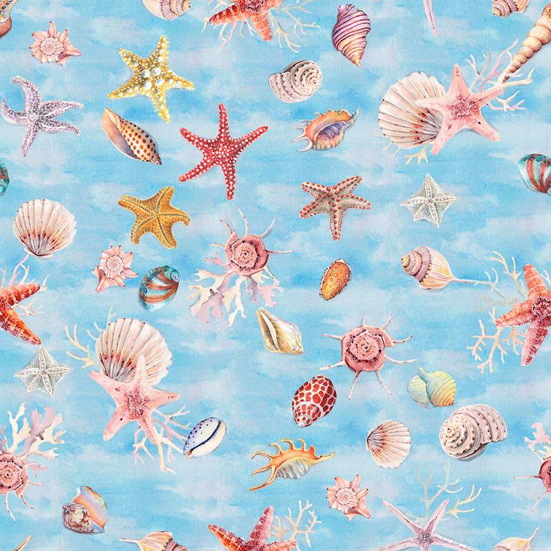 Loneta marina para decoración