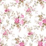 Loneta estampada de flores