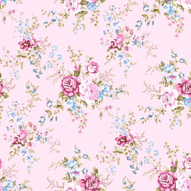 lonetas de flores en color pastel rosa venta online