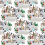 lonas de navidad telas para decoración navideña