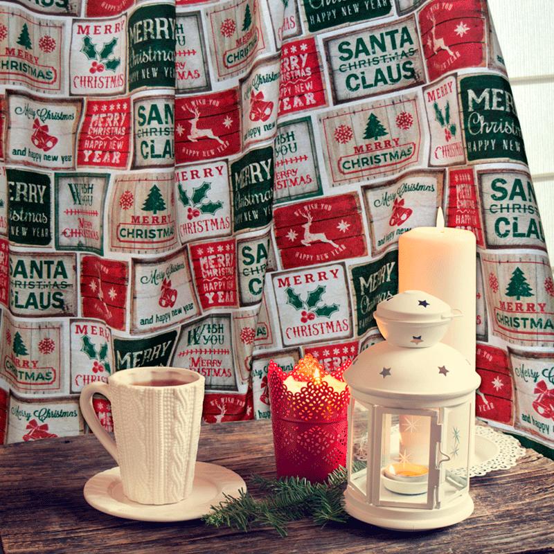 Loneta navideña
