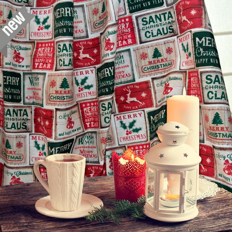 Telas de navidad Christmas Loneta Canvas