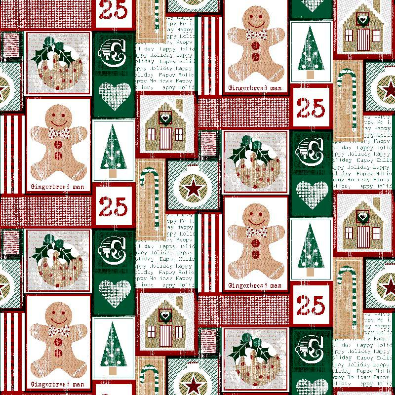 tela de navidad diseños modernos navideños chirstmas