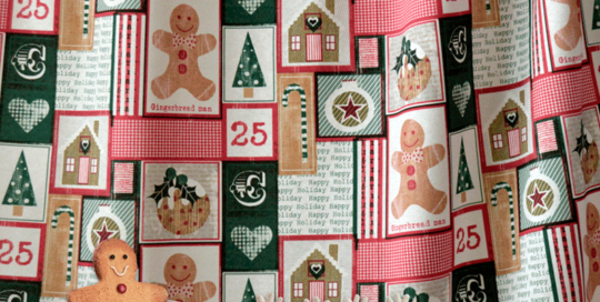 Telas de navidad para decoración de interiores. Lonetas por metros