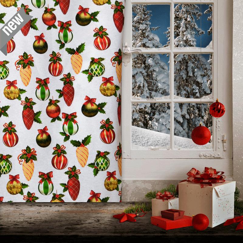 telas de navidad venta por metros tela loneta decoración