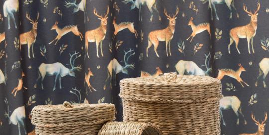 tela decoración de animales lonetas