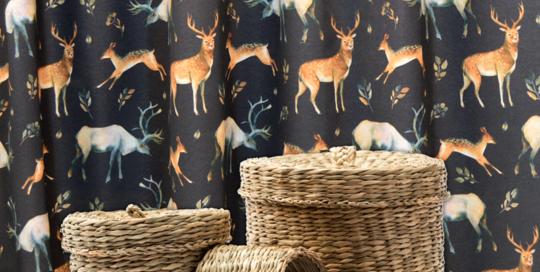 telas decoración hogar lonetas silvestres