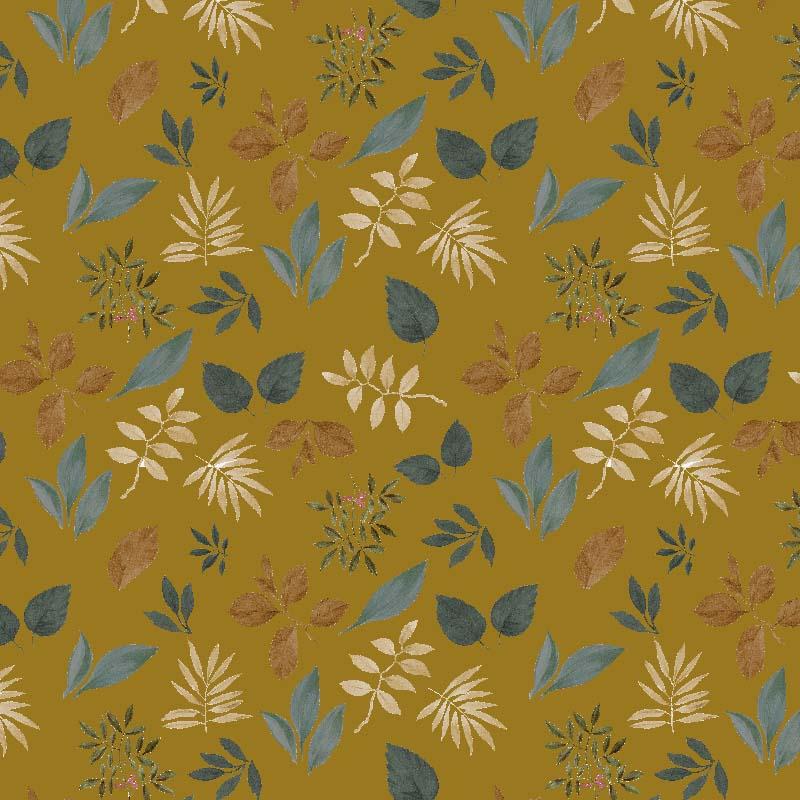 telas de hojas lonetas estampadas