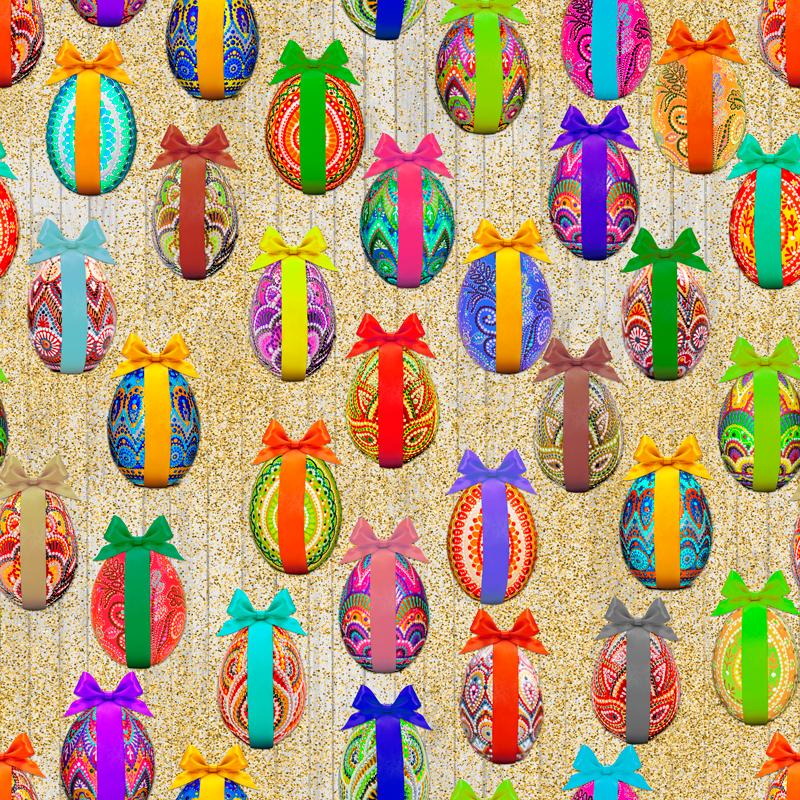 loneta de colores pascua