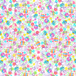 loneta con letras pascua de colores