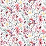 Alana 301 loneta de flores