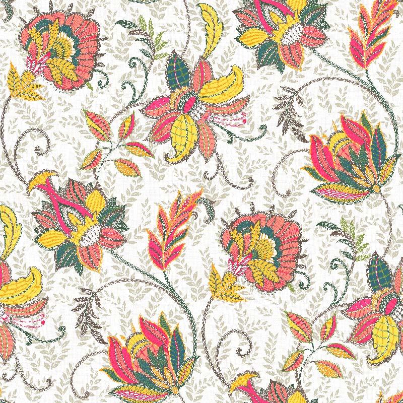 loneta estampada venta por metros flores