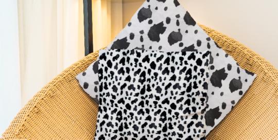 lonetas con diseños de animales