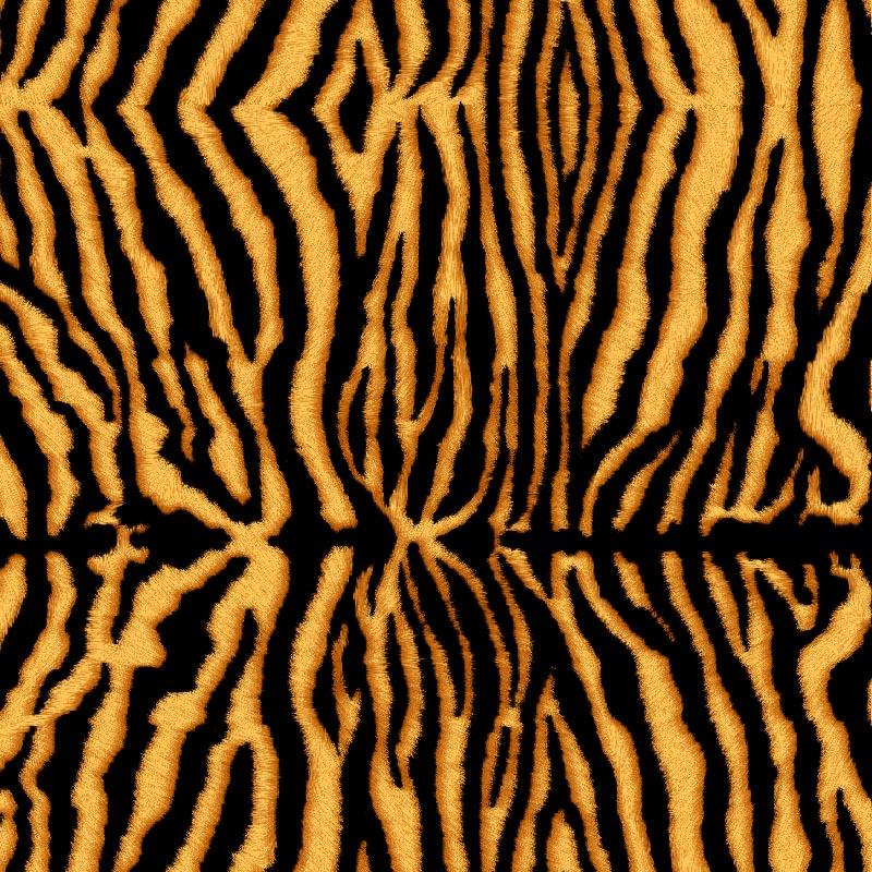 telas con estampado de tigre lonetas por metros