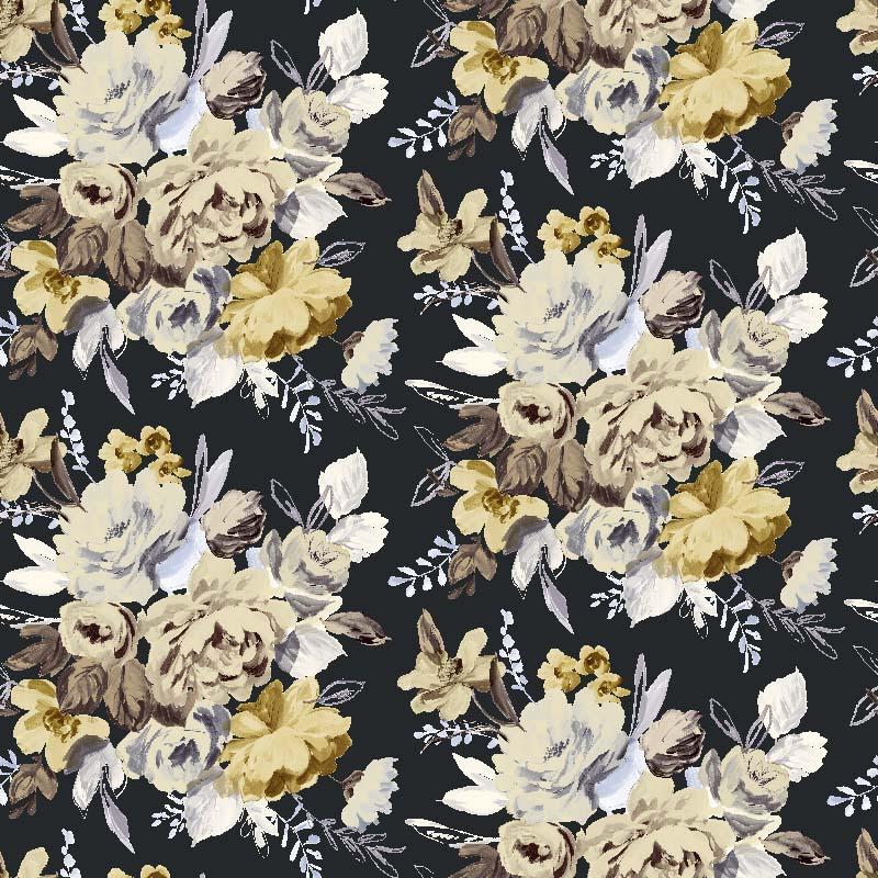 textil hogar de flores cretonas Loneta