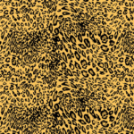 loneta tigre animal print