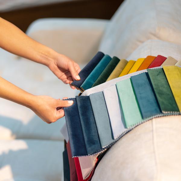 telas terciopelo en colores lisos